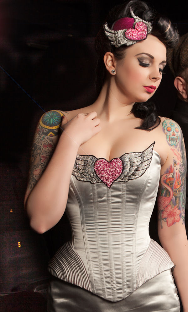 Alternative wedding dresses on pinterest tattooed brides for Tattoos and wedding dresses