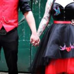 The-couture-company-alternative-bespoke-wedding-dresses-andunusual-quirky-custom-made-black-red-corset-tattoos-bridal-gown-JoC (29) (Copy)