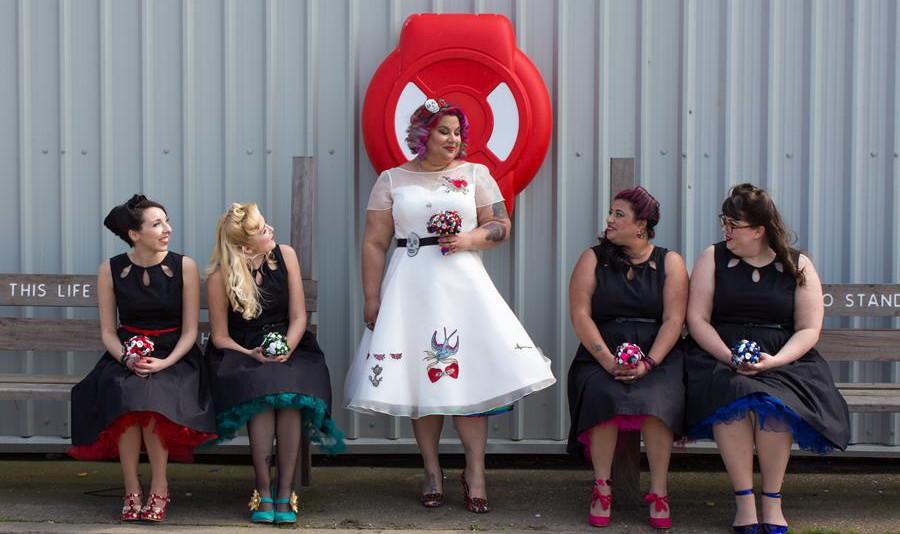 the-couture-company-alternative-wedding-dresses-dress-tattoos-tattooed-bride-rocknroll-50s-short-colourful-bespoke-rock-bridal (10)
