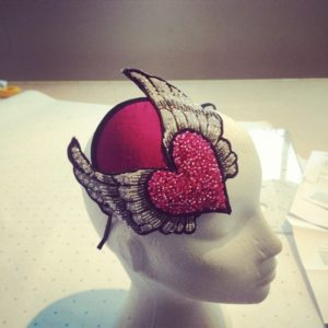 Heart and wings Headpiece