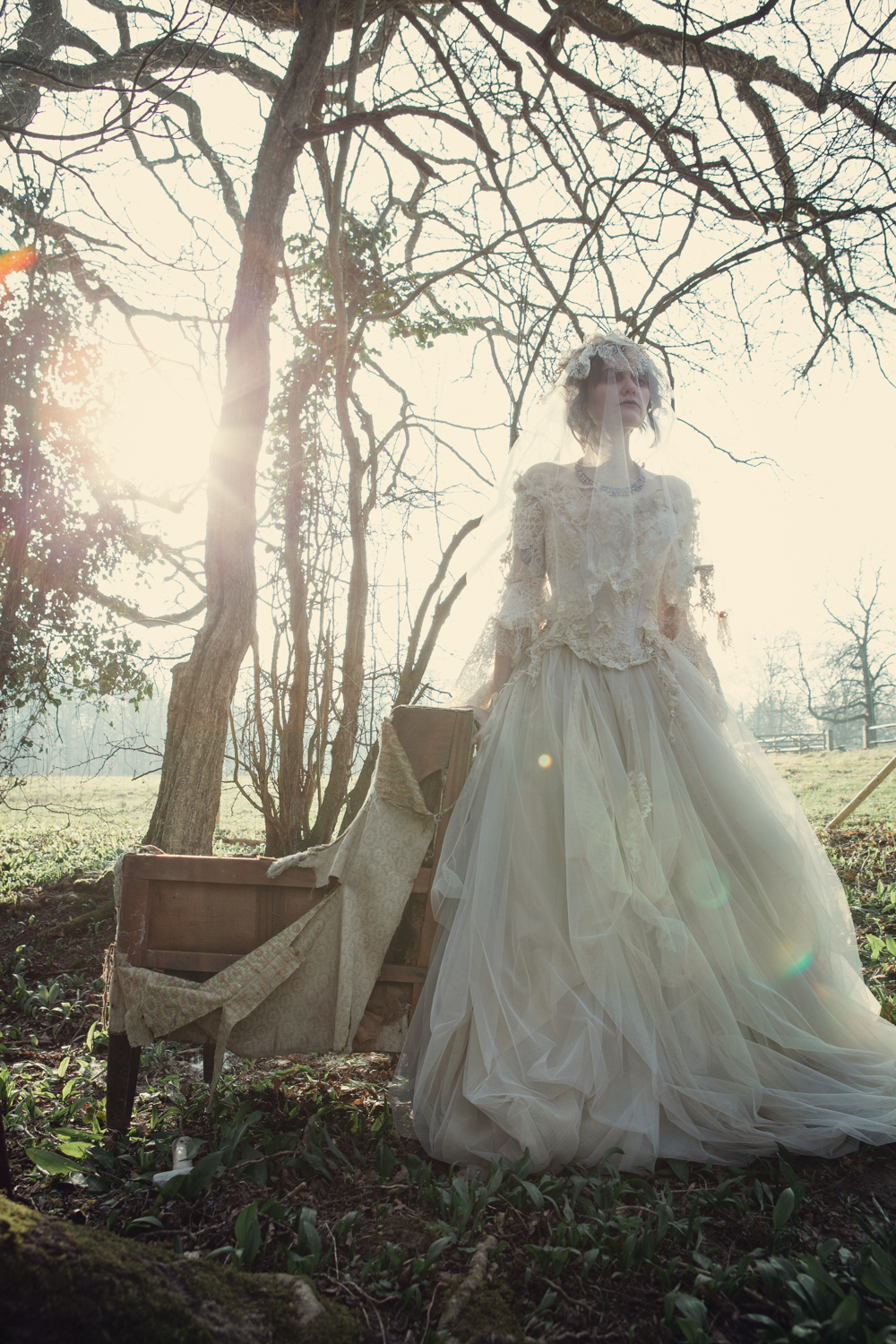 The couture company alternative bespoke custom made quirky wedding the couture company alternative bespoke custom made quirky wedding dresses vintage silk corset miss havisham bohemian embroidery corsetted tuille net lace ombrellifo Gallery