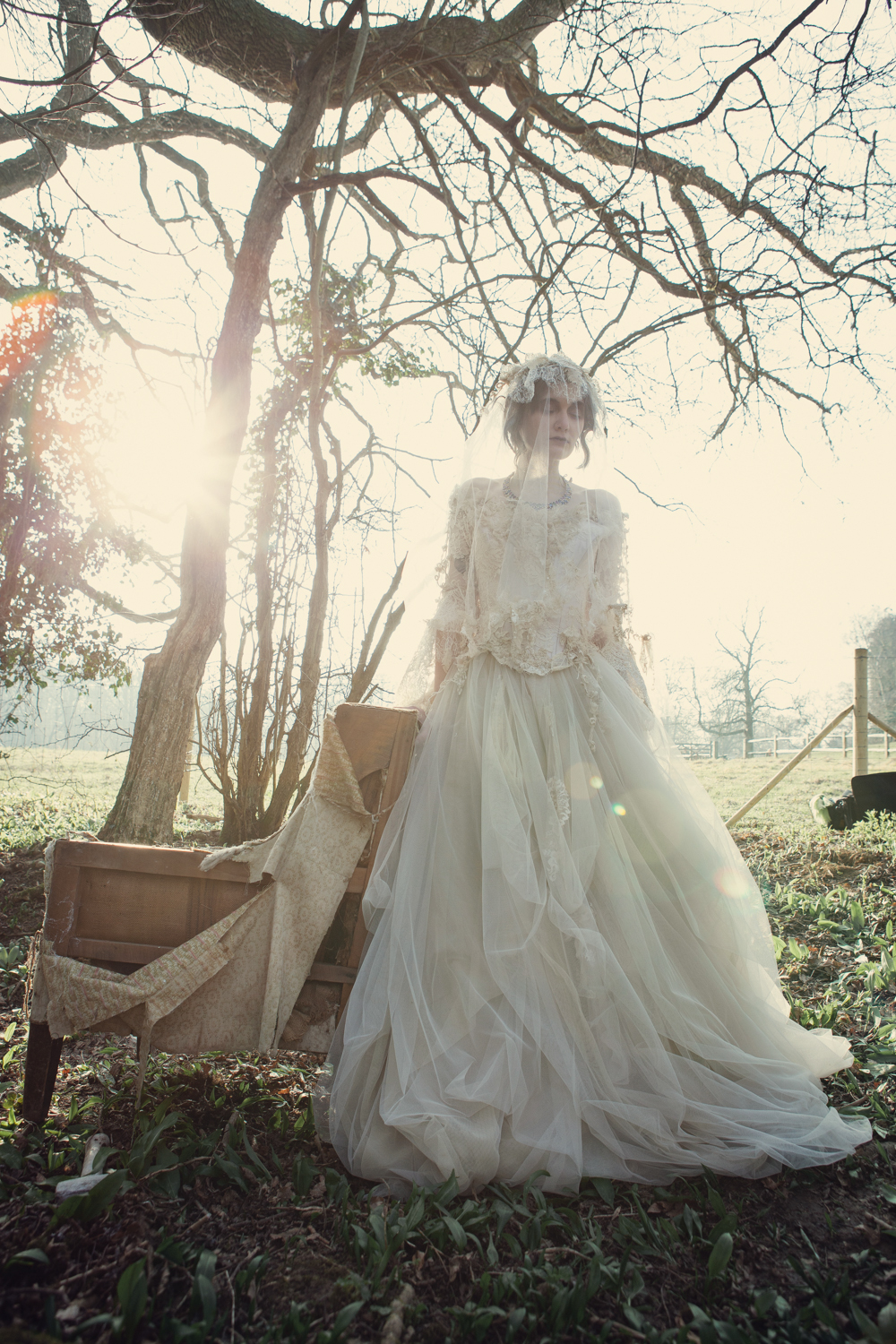 Quirky Wedding Dresses with Straps