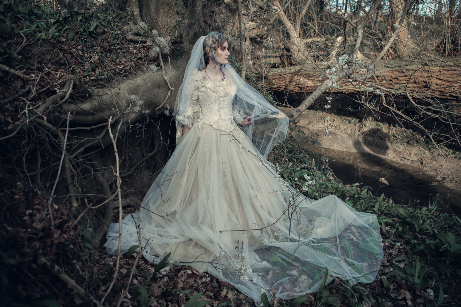 The couture company alternative bespoke custom made for Vintage gothic wedding dresses