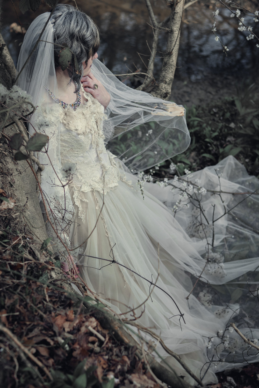 7f0984f6b73 The Couture Company Alternative Bespoke Custom Made Wedding Dresses Vintage  Lace Silk Corset Gothic CoutureCoMissHAssassynation 30