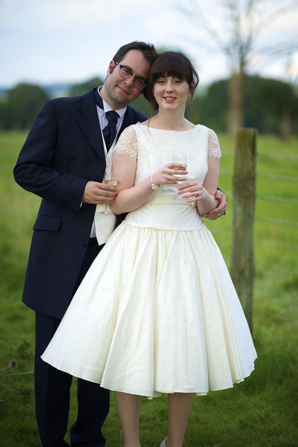 Wedding dress on pinterest vintage wedding dresses tea for Alternative to wearing a wedding dress