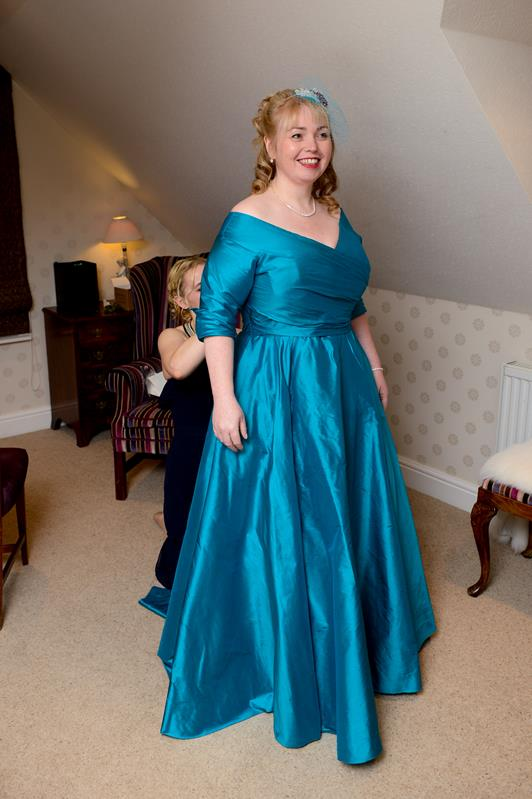 Maria S Snowflake Inspired Christmas Wedding And