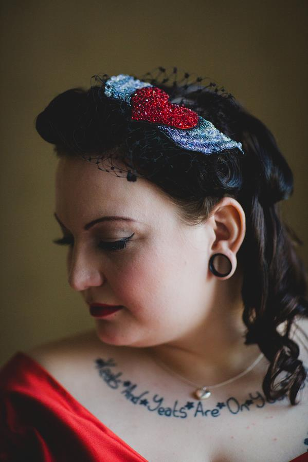 The-couture-company-alternative-bespoke-custom-made-wedding-quirky-dresses-rockabilly-1950s-tea-length-swing-vintage-lace-tattoo-tattooed-red-vegan-dress-bride-PhotoByToastofLeeds (8) (Copy)