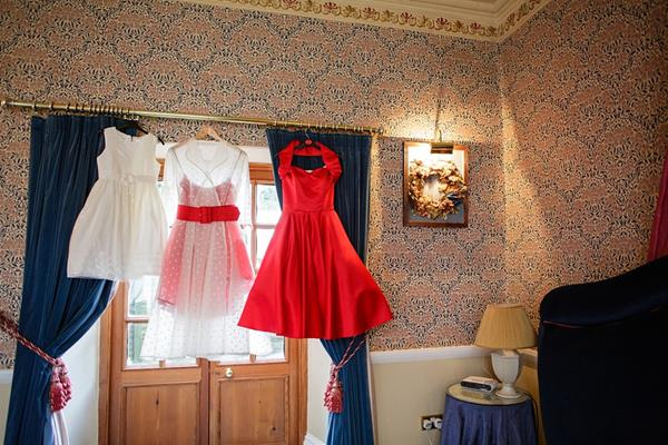 Tux-and-Tales-Photography-the-couture-company-alternative-bespoke-custom-made-wedding-dresses-polkadot-spotty-red- silk-rockabilly-1950s-tea-length-swing-vintage-lace-embroidered-dress-bride- (2) (Copy)