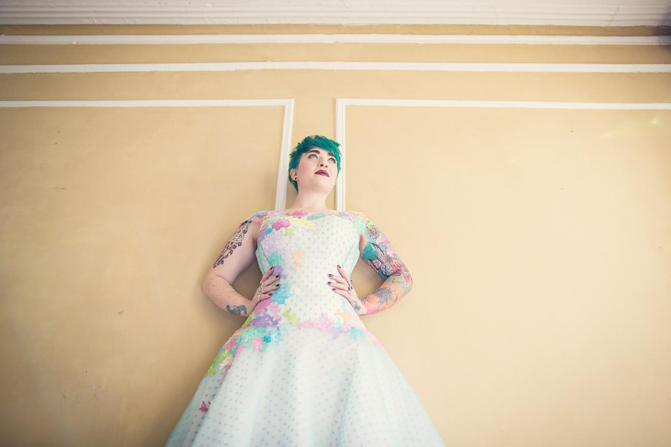 The-couture-company-alternative-bespoke-wedding-quirky-dresses-1950s-swing-vintage-lace-embroidered-lace-dress-bride-teal-blue-pink-polkadot-assassynation (86)