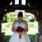 The-couture-company-alternative-bespoke-custom-made-wedding-dresses-vintage-spot-polka-dot-silk-rockabilly-1950s-tea-length-swing-dress-bride-red-belt (6) (Copy)