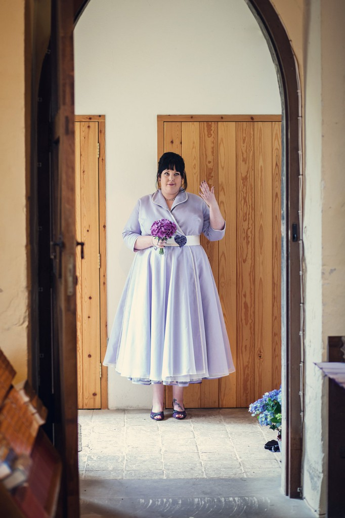 The-couture-company-alternative-bespoke-custom-made-wedding-quirky-dresses-rockabilly-1950s-tea-length-swing-vintage-plus-size-curvy-bride-embroidered-lace-dress-bride-lilac-purple-heart-assassynation (3)