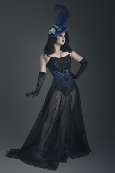 The-couture-company-alternative-bespoke-wedding-dresses-and-corset-black-white-blue-unusual-quirky-custom-made-gothic-fairytale (6)