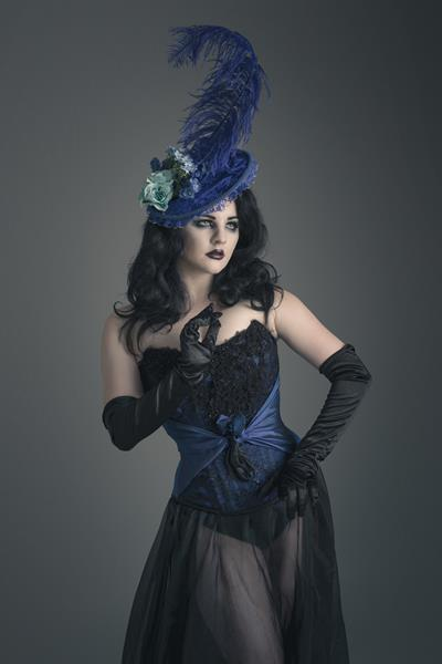 The-couture-company-alternative-bespoke-wedding-dresses-and-corset-black-white-blue-unusual-quirky-custom-made-gothic-fairytale (7)