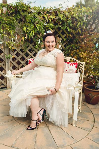 Wedding Gowns For Short Curvy Brides : Alternative wedding dresses cream curvy plus size castle short bride