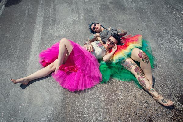 the-couture-company-alternative-bespoke-unusual-crazy-wedding-dress-coloured-colourful-hot-pink-rainbow-tattoo-corset-assassynation (19)
