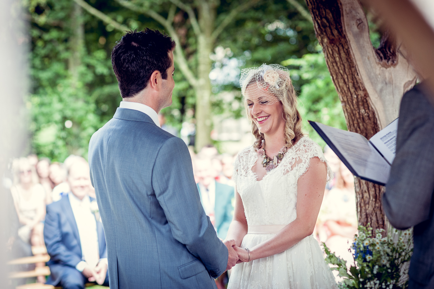 Nikki\'s cute and quirky dress for her Barn wedding – Alternative ...