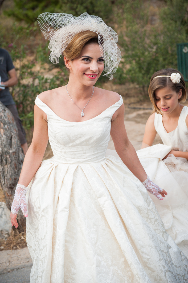 olgas big fab greek wedding with classic cut s dress and some lovely words too greek wedding dresses Olga s Big FAB Greek wedding with classic cut s dress and some lovely words too x