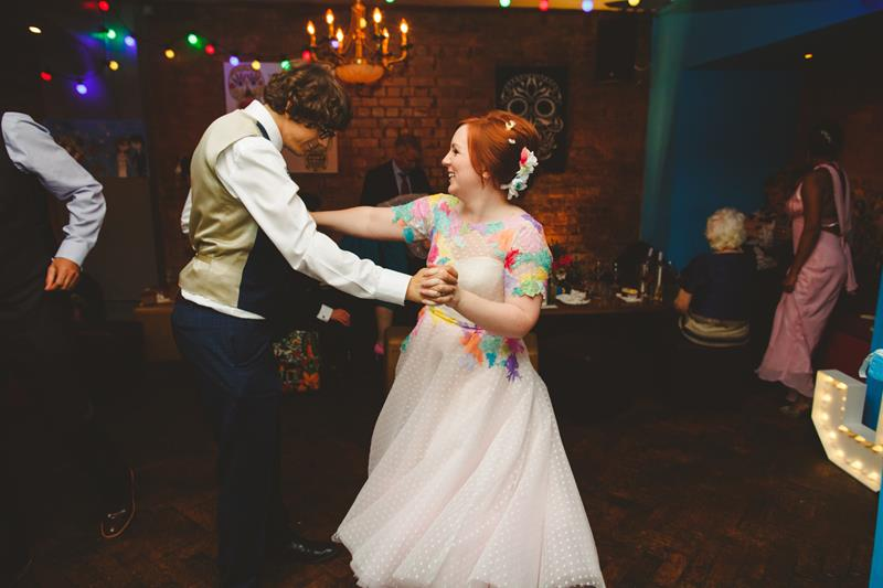 the-couture-company-alternative-bespoke-wedding-dresses-dress-bright-colours-lace-polka-dot-spot-coloured-quirky-photo-camera-hannah (1)