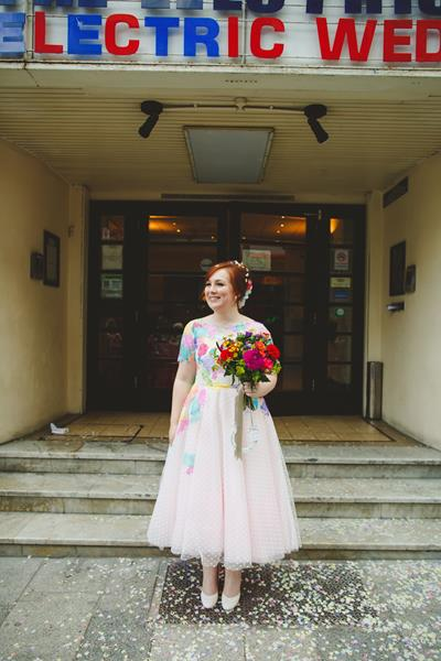 the-couture-company-alternative-bespoke-wedding-dresses-dress-bright-colours-lace-polka-dot-spot-coloured-quirky-photo-camera-hannah (21)