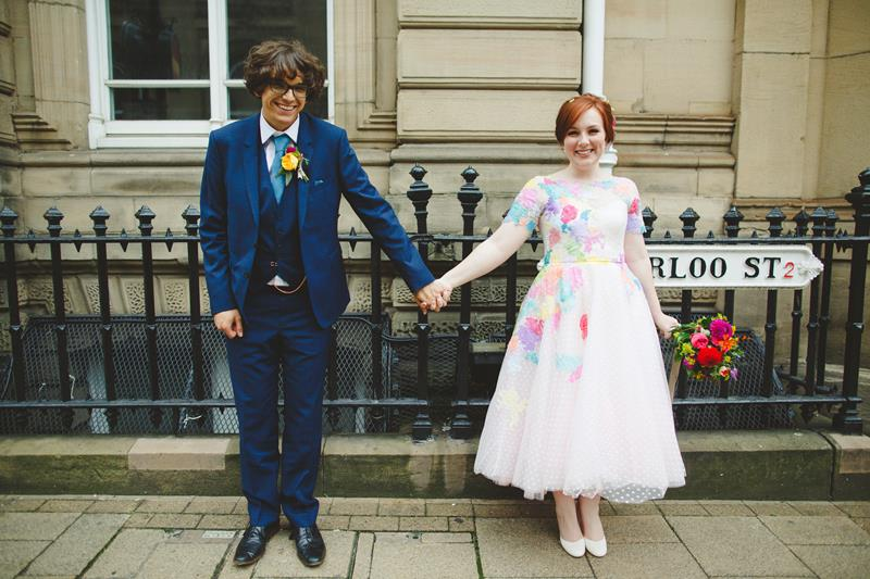 the-couture-company-alternative-bespoke-wedding-dresses-dress-bright-colours-lace-polka-dot-spot-coloured-quirky-photo-camera-hannah (25)