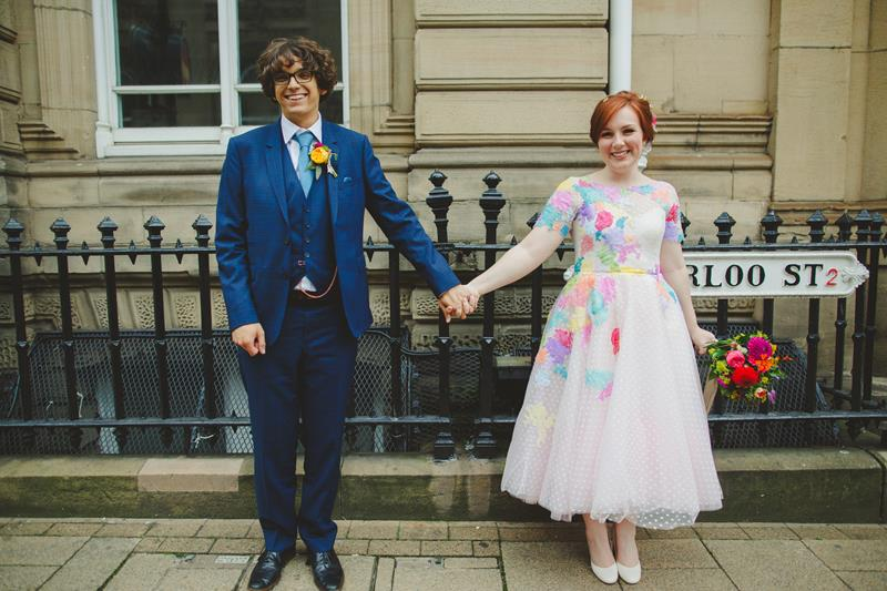 the-couture-company-alternative-bespoke-wedding-dresses-dress-bright-colours-lace-polka-dot-spot-coloured-quirky-photo-camera-hannah (26)