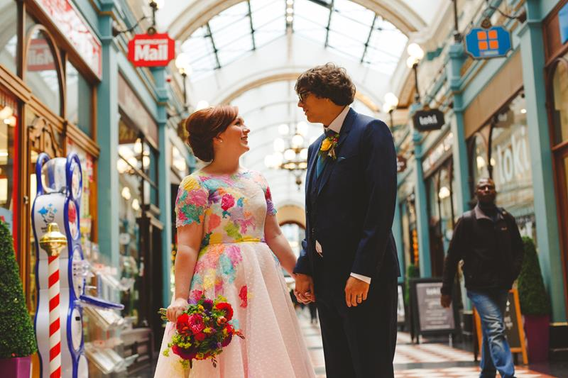 the-couture-company-alternative-bespoke-wedding-dresses-dress-bright-colours-lace-polka-dot-spot-coloured-quirky-photo-camera-hannah (28)