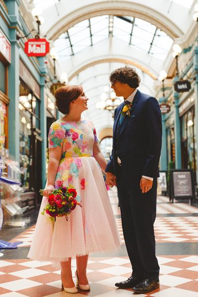 the-couture-company-alternative-bespoke-wedding-dresses-dress-bright-colours-lace-polka-dot-spot-coloured-quirky-photo-camera-hannah (29)