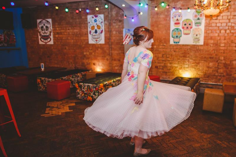 the-couture-company-alternative-bespoke-wedding-dresses-dress-bright-colours-lace-polka-dot-spot-coloured-quirky-photo-camera-hannah (30)