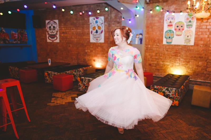 the-couture-company-alternative-bespoke-wedding-dresses-dress-bright-colours-lace-polka-dot-spot-coloured-quirky-photo-camera-hannah (31)