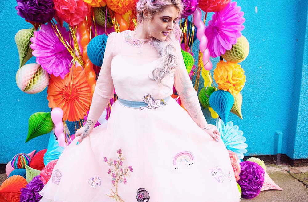 Curious-coco-Couture-company-iron-fist-alternative-bridesmaids-and-wedding-dresses-quirky-rainbow-bright-colours (74)