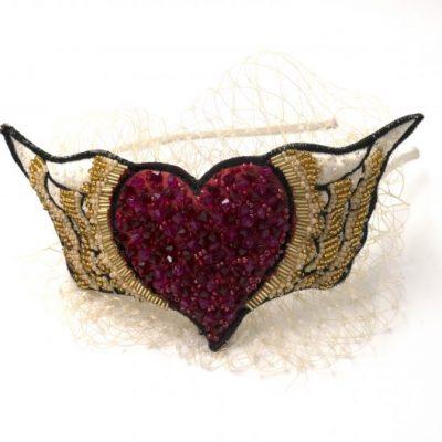 Flying Heart Headband