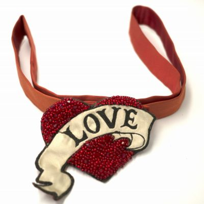 LOVE Belt- Red