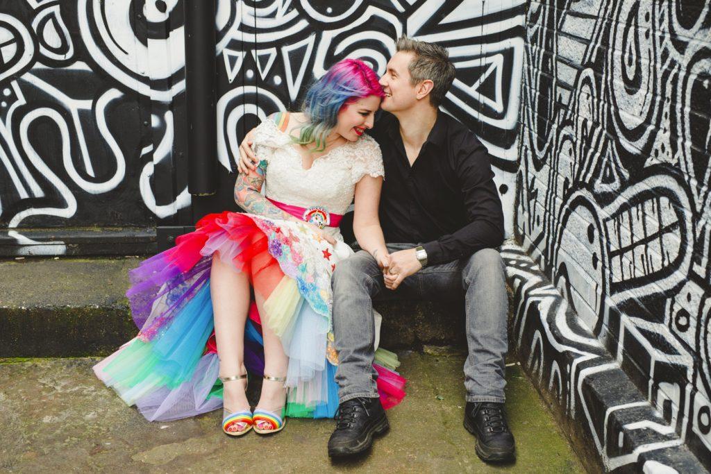 kat gareth rainbow wedding dress_edited (3)