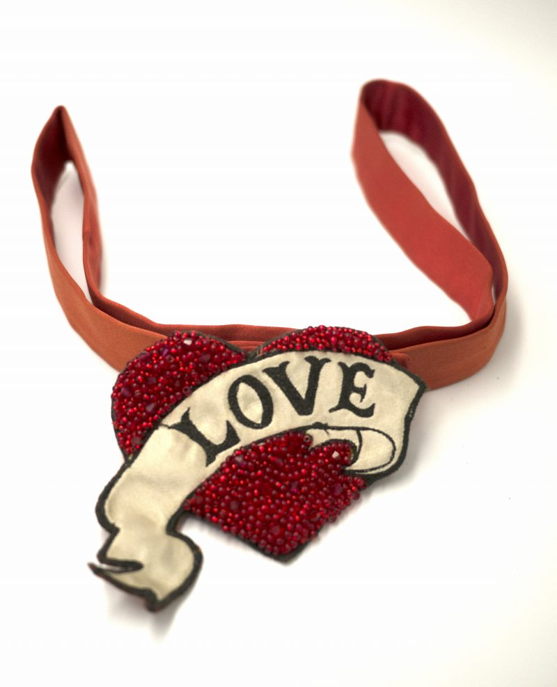 LOVE Belt- Red