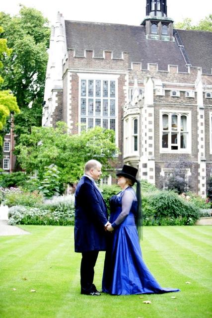 The-couture-company-bespoke-alternative-blue-corset-wedding-dress-SianM (4)
