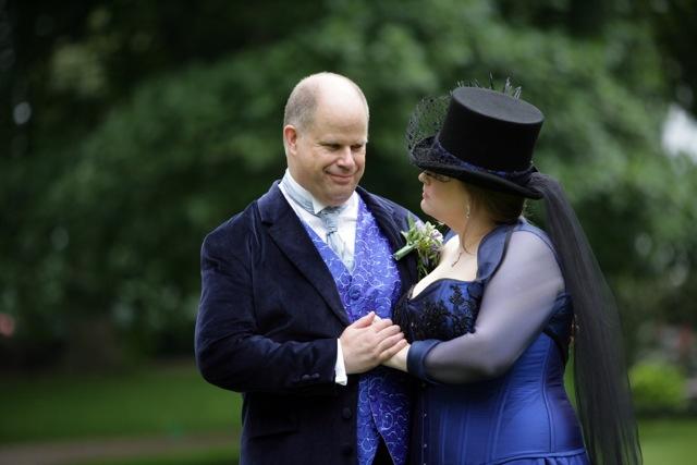 The-couture-company-bespoke-alternative-blue-corset-wedding-dress-SianM (5)
