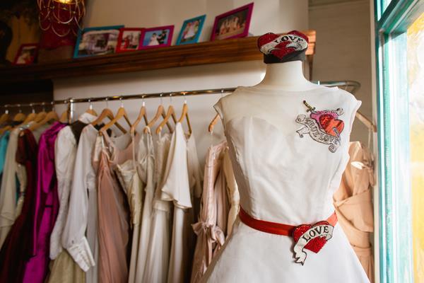 the-couture-company-new-shop-boutique-alternative-unique-wedding-bridal-dresses-dress-gowns-quirky-unusual-coloured-lee-allen-photography (3)